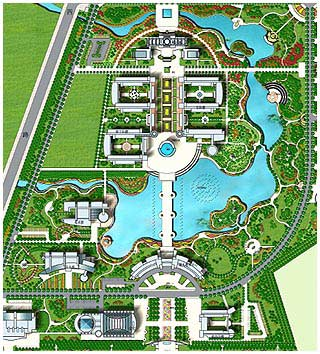 同济大学2012景观快题设计